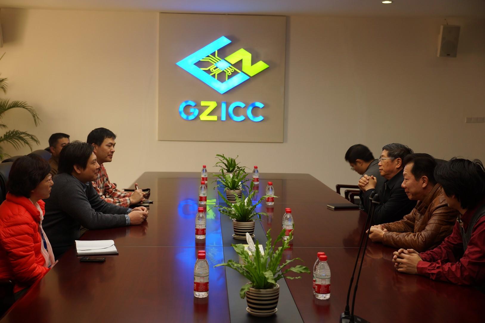 集成电路行业著名专家严晓浪教授莅临广州国家ic基地